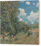Sisley The Road, 1875 Wood Print