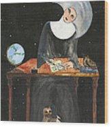 Sister Margaret Wood Print