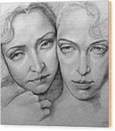 Sisterhood Wood Print