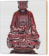 Sitting Buddha  Wood Print