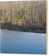 Situate Dam Wood Print