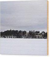 Siuro Winter Wood Print
