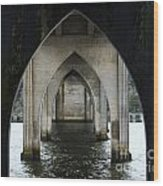 Siuslaw River Bridge Florence Oregon Wood Print