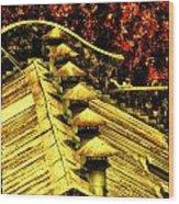 Six Hats Wood Print