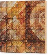 Six Sigma Wood Print