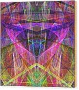 Sixth Sense Ap130511-22-20130616 Square Wood Print by Wingsdomain Art and Photography