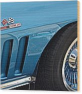 Sixty Six Corvette Roadster Wood Print