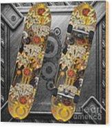 Skateboard Wood Print