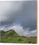 Skc 3548 Over The Western Ghats Wood Print