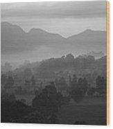 Skc 3953 Layered Landscape Wood Print