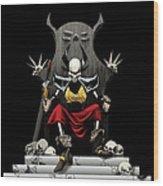 Skeletal Noble Wood Print