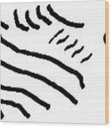 Sketch 2 Wood Print