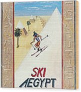 Ski Aegypt Wood Print by Richard Deurer