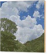 Skies Of Minas Gerais 15 Wood Print