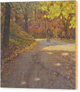 Skippers Autumn Wood Print by Terry Perham