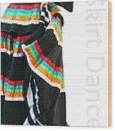 Skirt Dance Wood Print