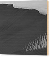 Skn 0976 The Demarcation Wood Print