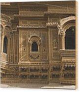 Skn 1310 Elegant Architecture  Wood Print