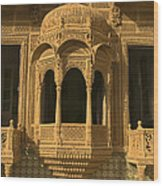 Skn 1320 Carving Splendor Wood Print