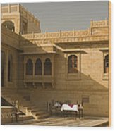 Skn 1322 Palatial Architecture Wood Print