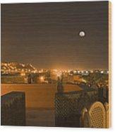 Skn 1351 Illumination At The Horizon Wood Print