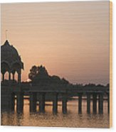 Skn 1356 Good Morning Jaisalmer Wood Print