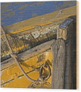 Skn 1394 Dilapidated Boats Wood Print