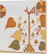 Skn 1399 Painting Media Wood Print