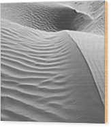 Skn 1415 The Flow Of Ripples Wood Print