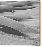 Skn 1432 Slopes And Curves Wood Print