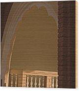 Skn 1816 The Inner Veranda Wood Print