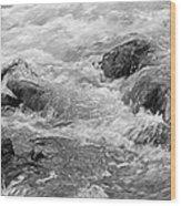 Skc 0212 Facing The Tide Wood Print