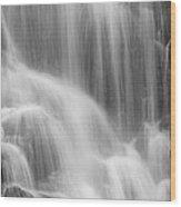Skc 0218 Soothing Waterfall Wood Print