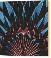 Skc 0269 Cut Glass Wood Print