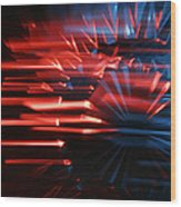 Skc 0272 Crystal Glass In Motion Wood Print