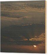 Skc 0320 Rising Rays Wood Print