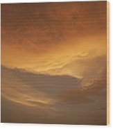Skc 0324 Golden Glow Wood Print