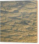 Skc 0341 Cloud Quilt  Wood Print