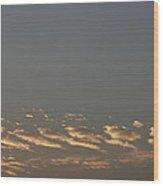 Skc 0352 Rythmic Clouds Wood Print