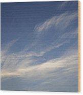 Skc 0356 Sky Sketching Wood Print