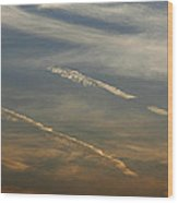 Skc 0365 Cloud Tracks Wood Print