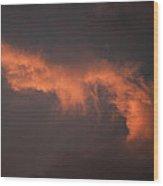 Skc 0371 Sunset Cloud Color Wood Print