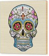 Skull 10 Wood Print