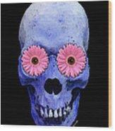 Skull Art - Day Of The Dead 1 Wood Print