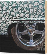 Skull Patterns Wood Print