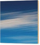 Sky 008 Wood Print