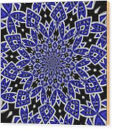 Sky Blue 1 Wood Print
