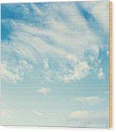sky Wood Print