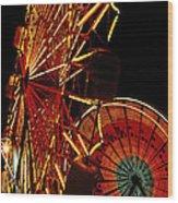 Sky Diver - Carnival Wood Print