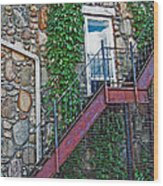 Sky Dreams Wood Print by MJ Olsen
